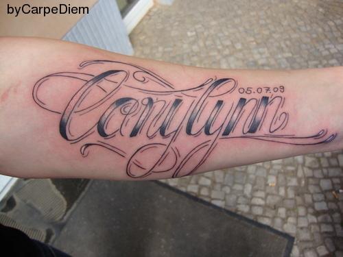 Schriften tattoo bildergalerie